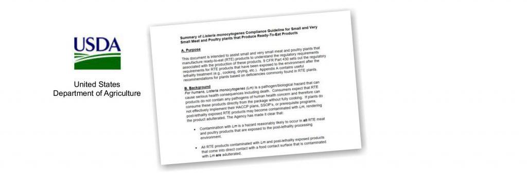 USDA Listeria studies