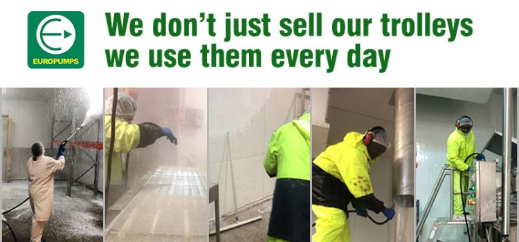 We don't just sell our trolleys, we use them every day