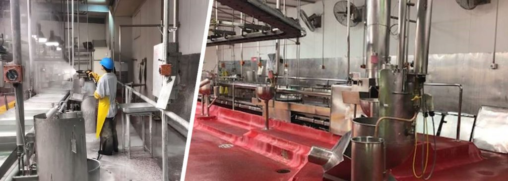 Abattoir and Small stock cleaning & hygiene